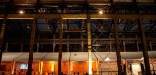 Installation tente bipente à Nantes